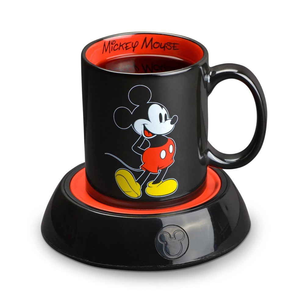 Mickey Mouse Coffee Mug With Warmer