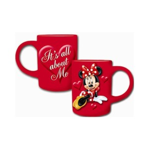Minnie Mouse Coffee Mug Full Red