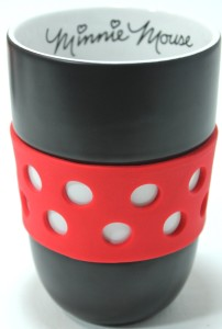 Minnie Mouse Coffee Mug With Rubber Grip