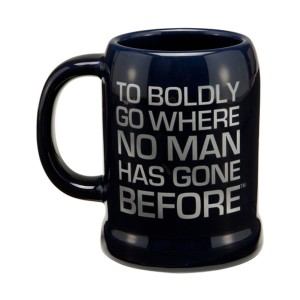 Star Trek Coffee Mug Back